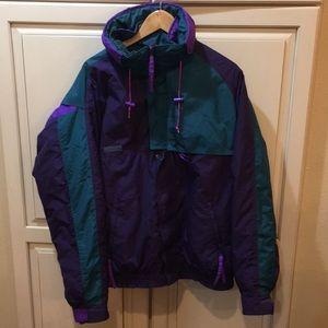 Vintage 90s Columbia criterion ski jacket L